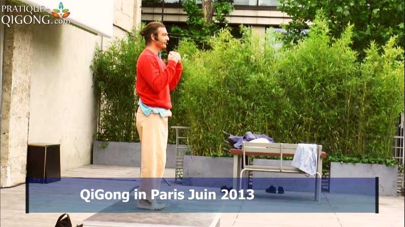 Qi Gong in Paris Juin 2013
